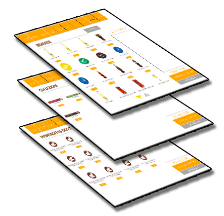schermate vendite cassa automatica