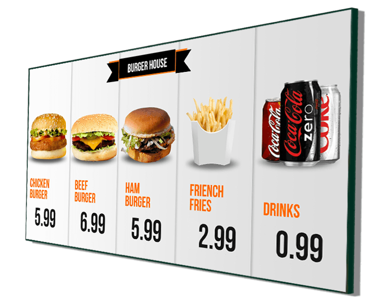 my digital menu board