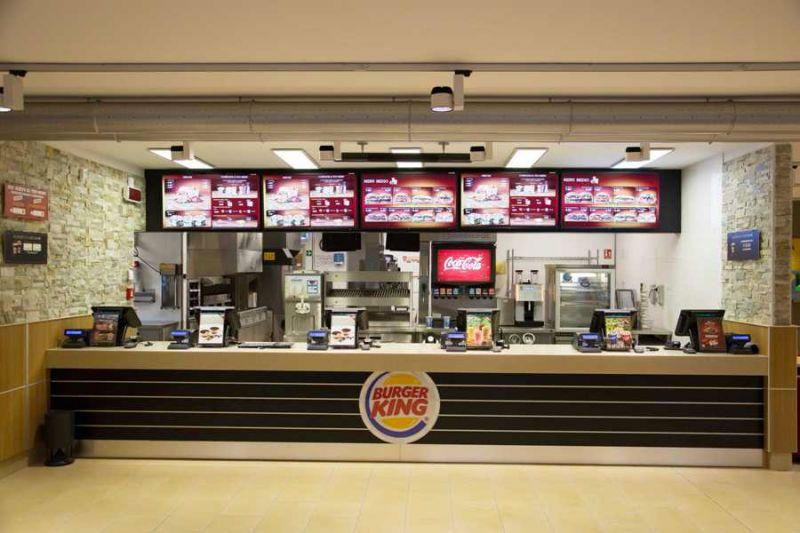 sistemi completi punti vendita burger king