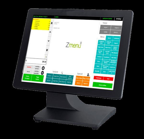 zmenu2 software ristorazione