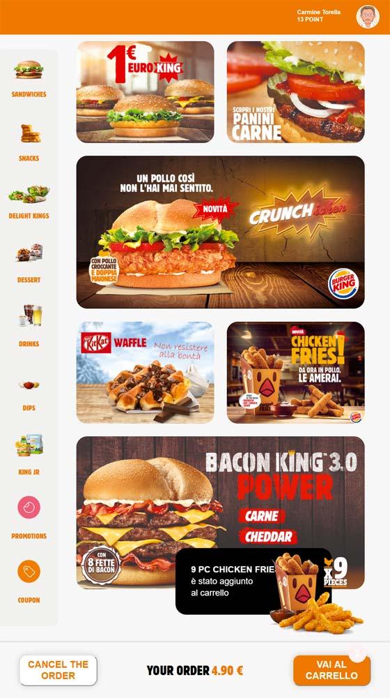 My Kyosk Burger King