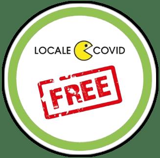 logo locale covid free